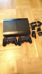 PS3, 2 Controllers, All Chords, 11 Games, 4 Games pre-installed