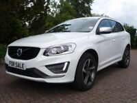 Volvo XC60 2.0 D4 R-DESIGN LUX 190PS (white) 2015