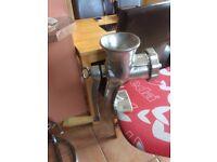 Kitchen hand mincer