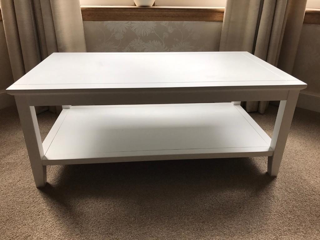 Tesco Southwold Coffee Table Ivory Coloured In Southside