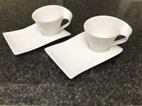 Villeroy & Boch New Wave Cup and Plate