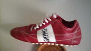Bikkembergs sport shoes, ITALIEN LEATHER, size 8.5 to 9, New