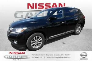 2015 Nissan Pathfinder SL 4WD GPS NAVIGATION, TOIT OUVRANT, CUIR