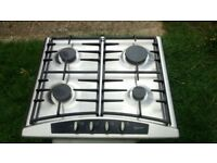Neff T2346N1 Stainless Steel Gas Hob 4 burner, great condition!