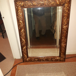 Gold Framed Mirror - Antique Style