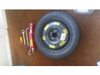 For sale Peugeot 308/ 3008 space saver spare wheel kit