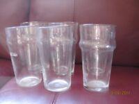 6 Pint Glasses unbranded