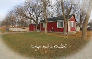 Coaldale Home on MASSIVE 50 x 150 Lot Under 150K!