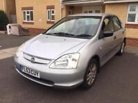2003 Honda civic 1.6 Automatic, Mileage 66800,One owner, Full history ••£1350••