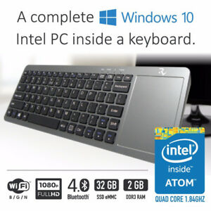BRAND NEW SMART RHINO WINDOWS 10 COMPUTER IN A KEYBOARD+ MOUSE
