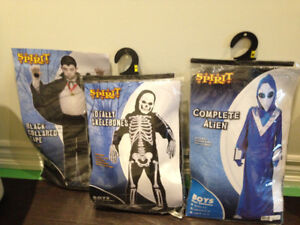 Several boys youth halloween costumes