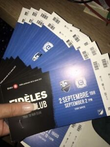 Montreal Impact 8 tickets September 2nd vs Chicago Fire $60