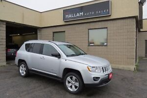 2012 Jeep Compass Sport/North LOW KMS,