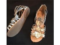Size 2 Girls sandals