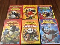 KUNG FU PANDA DVD COLLECTION EXCELLENT CONDITION