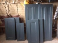 Doors for kitchens or cupboards