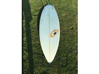Surfboard 6'8 Guts Griffiths