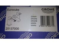 Eurocube by grohe. mixer taps brand new boxed.