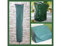 Garden Parasol, Chairs and Bench Covers