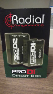 Like new Radial Pro Series Direct Box