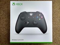 Xbox One Controller with Bluetooth, black, NEW, SEALED BOX