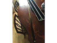 Craftsman Cues 1/2 Split Butterfly Snooker/Pool Cue