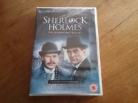 New & Sealed Sherlock Holmes The Elementary Box Set DVD's