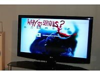LG 42 Inch HD LCD TV, Freeview, Remote Control, Good condition. Bargain!!