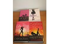 katie price novels & sapphire signed job lot x4