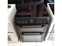 Black beko ceramic top cooker (60 wide)