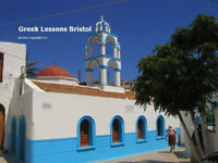 Greek lessons Bristol with very experienced Greek language tutor