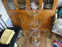 Revolving 3 Tier Vertical Shoe Tree Carousel - Stores 18 pairs