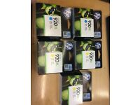 5x HP Officejet 920XL Ink - Genuine - Unopened - x2 Cyan - x3 Yellow