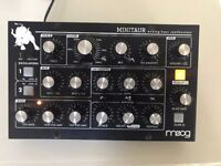Moog Minitaur Synthesizer.