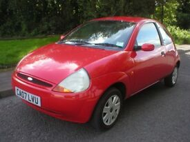 2007 FORD KA 1.3 STYLE - LOW MILES WITH FULL MAIN DEALER SERVICE HISTORY- 10 SERVICE STAMPS