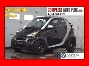 2011 Smart fortwo Cabriolet Brabus Style *TURBO, Exhaust central