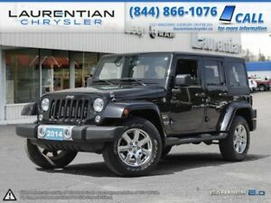 2014 Jeep Wrangler Unlimited- Hard top, Soft top, or no top!