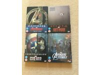Marvel Steelbooks x 4