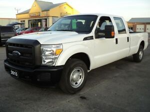 2015 Ford F-250 XL CrewCab 8ft Box 6.2 L