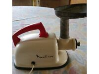 vintage moulinex food mincer
