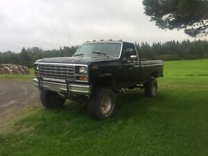 1981 Ford F150 Lifted w/extras