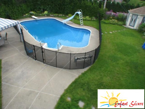 Swimming pool enclosure : Child Safe Pool Fences