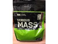 Optimum Nutrition Serious Mass/ Weight Gainer Milk Chocolate 5.45kg
