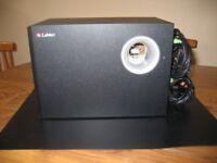 Labtec Multimedia Speaker Set System With 5 Speakers
