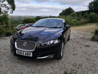 Jaguar XF Premium Luxury 200bhp -Stratus Grey-2013-32500m-Full jag service -1 year jaguar warranty
