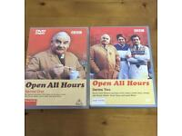 Dvd's Open all hours! Series 1&2