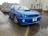 Impreza turbo 2002 remapped 280 bhp