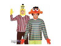 Bert & Ernie fancy dress outfits
