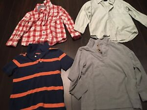 Boys size 5 and 5/6 shirts in EXCELLENT condition