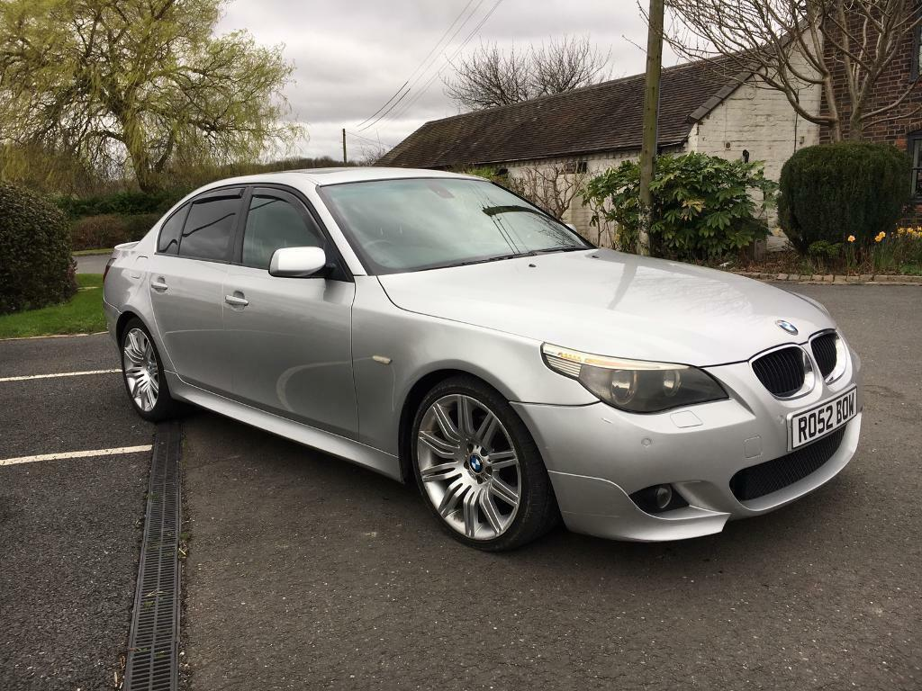 bmw 530d m sport 2005 05 sunroof electric leather seats fsh 19 spider in walsall. Black Bedroom Furniture Sets. Home Design Ideas